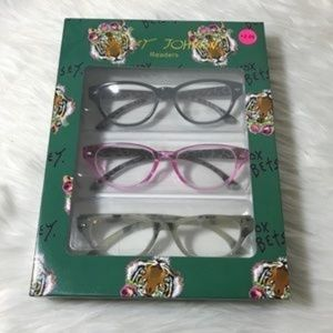 0acf3d963a83 Betsey Johnson Accessories - NEW Betsey Jonhson Marble Reading Glasses +2.00